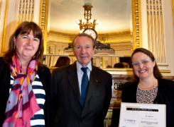 Anne Janand reçoit un Prix de Thèse organisé par l'Andese